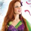 Giovanna Rangel estreia como a Pequena Sereia em musical no Rio