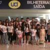 Atores conferem filme Gente Grande 2 no Rio