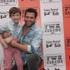 Vitor Figueiredo desfila na Fashion Weekend Kids em São Paulo