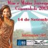 Concurso Miss e Mister Jacarepaguá Comunidade 2013