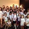 Atrizes e modelos mirins da Agência Cintra participam de desfile da Grife Monnalisa