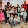 Atores participam de evento que alerta sobre a prevenção e combate à AIDS em revistas em quadrinhos