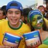 Gabriel Felipe confere a abertura da Arena FIFA Fan Fest™ em Copacabana