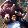 Márcia de Oliveira, Renan Cuisse e a cantora Naty Meg comemoram o dia dos pais em Atibaia