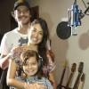 Giselle Itié, Guilherme Winter e Luiz Eduardo Toledo gravam música para novela da Record
