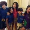 Gabriella Saraivah e famosos mirins participam de evento em prol da CACCST no Rio