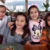 Carol Murai atriz da novela Gaby Estrela faz aula de gastronomia com amigas famosas