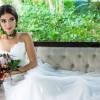 Anna Rita Cerqueira encanta como noiva em ensaio fotográfico