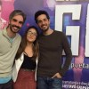 Luisa Gonzalez prestigia colegas de elenco em musical no Rio