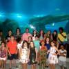 Eguinho leva famosos ao AquaRio antes da inauguração