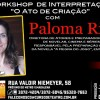 Workshop de Interpretação para TV com Paloma Riani
