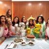 Mariana Lewis comemora aniversário com Festa do Pijama de Unicórnio