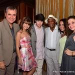 Equipe Cineplaneta com o ator Antonio Pitanga