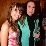 Julia Klein com a grande homenageada Fernanda Montenegro