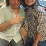 Luiz Eduardo Toledo e o Produtor Daniel Figueiredo