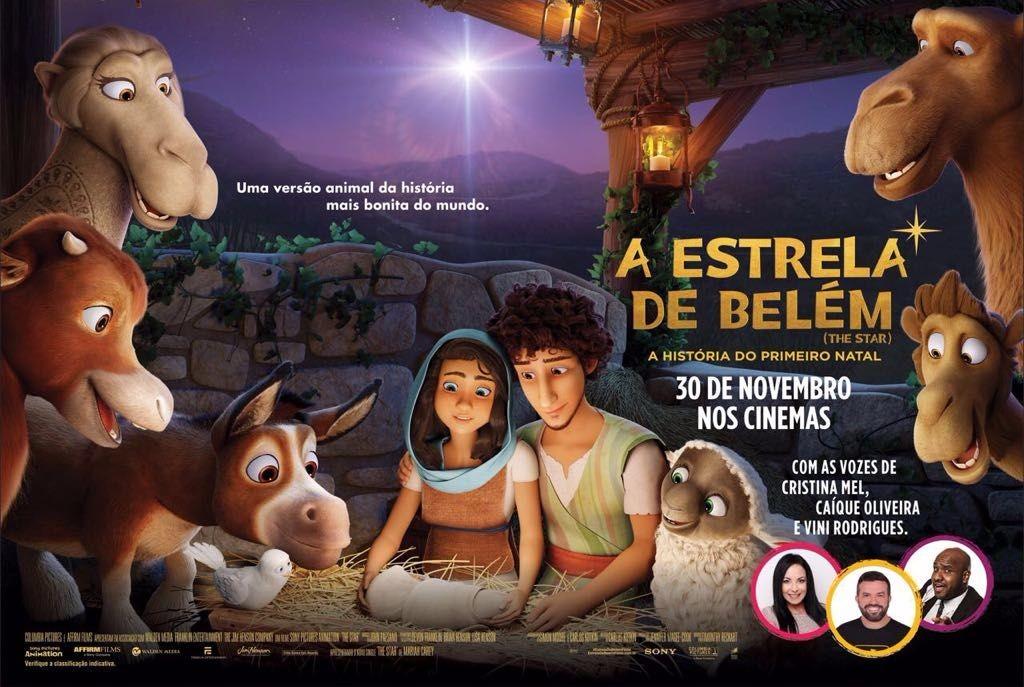 Animação estará nos cinemas no dia 30 de Novembro.